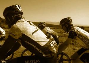 Cycling near Montserrat  - Catalonia