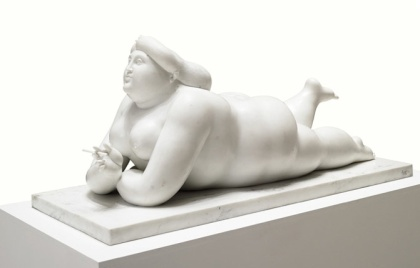 Fat lady Botero
