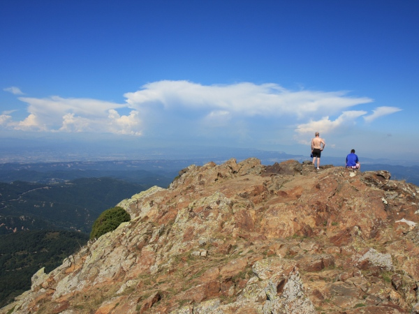 UP&GO: powered walk on Montseny